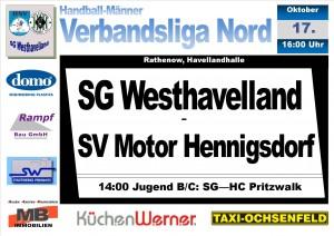 handballplakat2015_Verbandsliga_Hennigsdorf